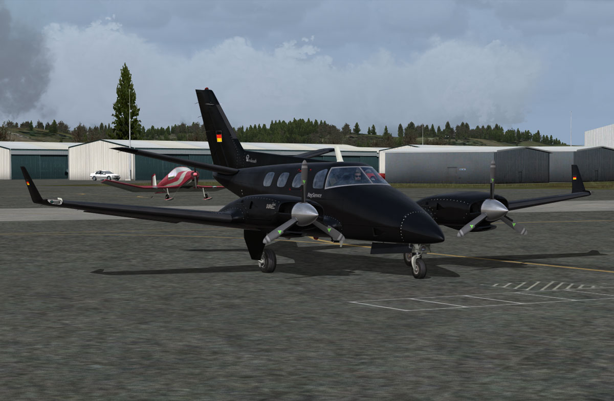 Baby's in Black! B60 V2 - The Paint Shop - The Aircraft Painter's